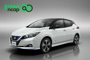 Nissana LEAF docenione pięcioma gwiazdkami w rankingu Green NCAP