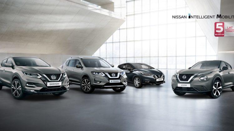 Promocja modeli Nissana!